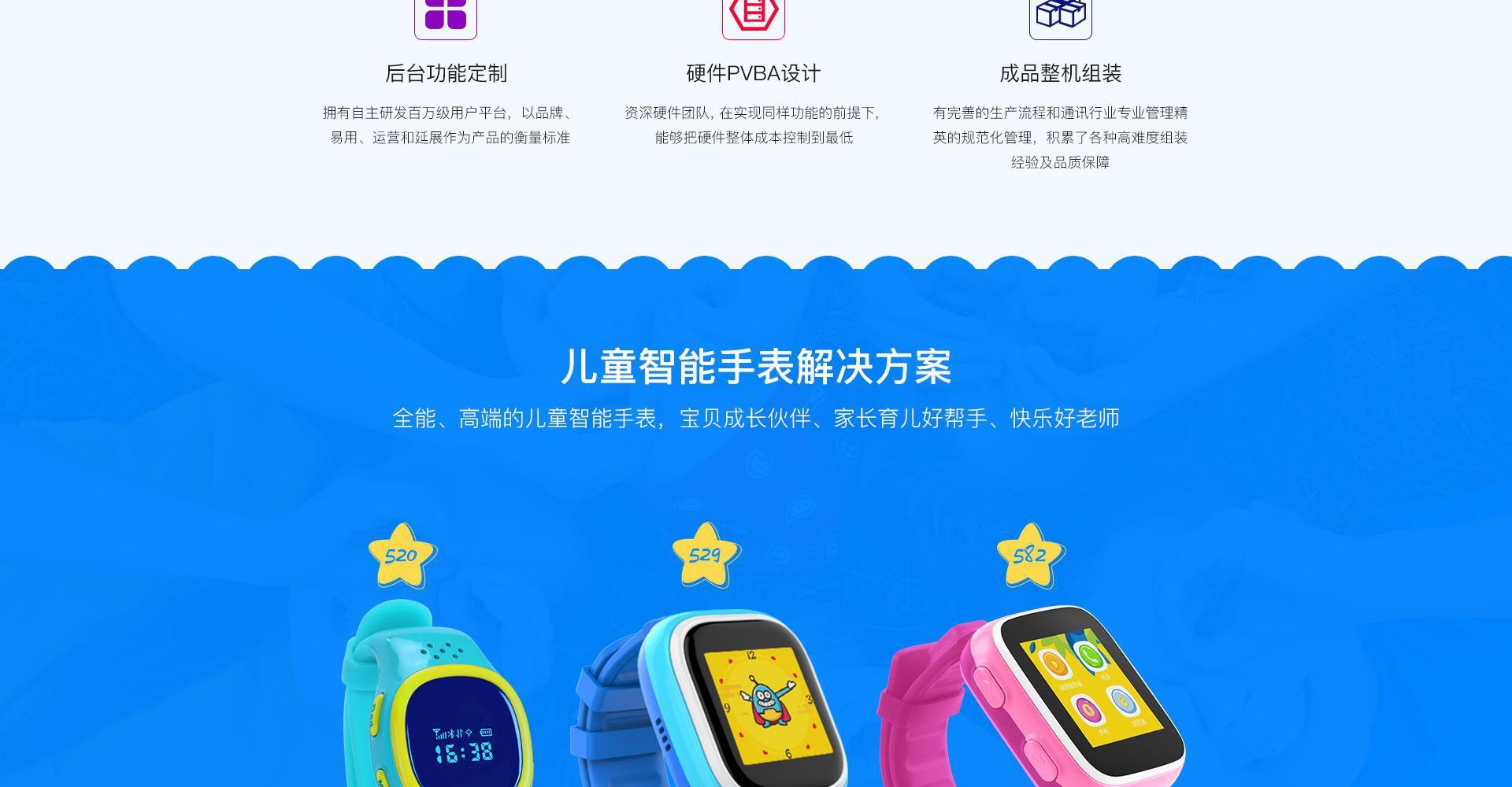 智能手表方案开发