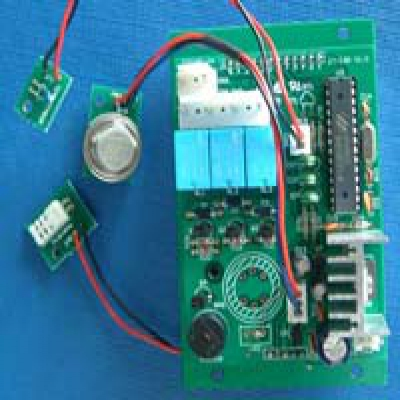 Security gate control board development