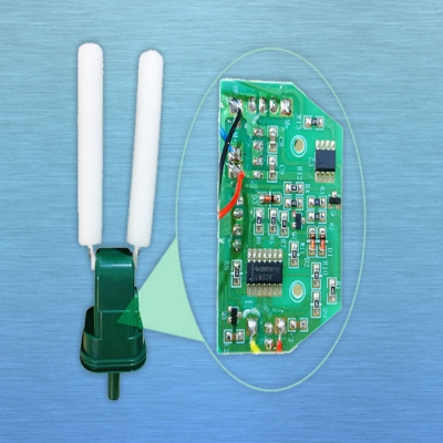 Ultrasonic animal repellent control panel